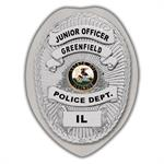 IMP. POLICE BADGE STICKER - STATE SEAL (IL)