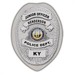 IMP. POLICE BADGE STICKER - STATE SEAL (KY)