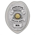 IMP. POLICE BADGE STICKER - STATE SEAL (MA)
