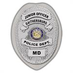 IMP. POLICE BADGE STICKER - STATE SEAL (MD)