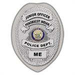 IMP. POLICE BADGE STICKER - STATE SEAL (ME)