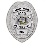 IMP. POLICE BADGE STICKER - STATE SEAL (MN)