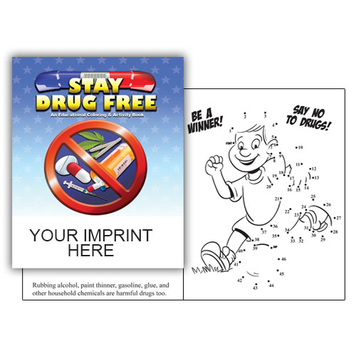 - IMP. STAY DRUG FREE COLORING & ACTIVITY BOOK