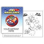 IMP. STAY DRUG FREE COLORING & ACTIVITY  BOOK