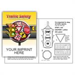 IMP. TRAFFIC SAFETY COLORING & ACTIVITY  BOOK