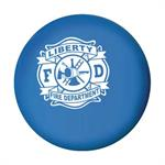 Imp. Blue 2.75^ Stress Ball w/ Maltese Cross