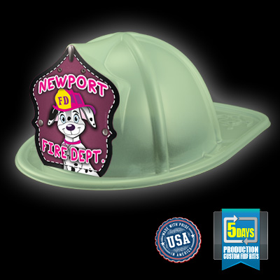 Imp. Fire Hat - Glow In The Dark - Cali Fire Pup