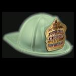 Imp. Fire Hat - Glow In The Dark - Flag F.D.