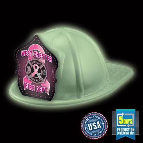 Imp. Fire Hat - Glow In The Dark - Ribbon