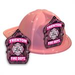 Imp. Fire Hats - Pink w/ Pink Camo Shield