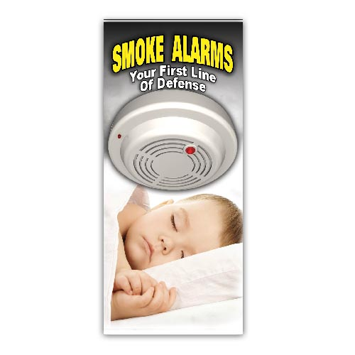 Imprinted--Smoke Alarms Brochure