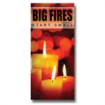 Imprinted Big Fires Start Small Brochure