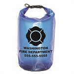 Imprinted Blue 10 Liter Dry Bag w/ Maltese
