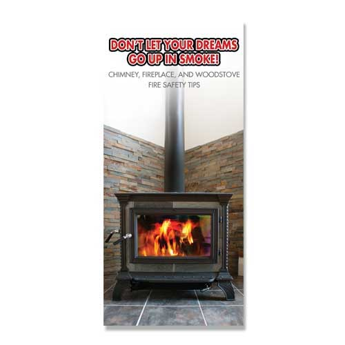 Imprinted Chimney Fire Safety Brochure
