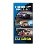 Imprinted Emergency 9-1-1 Brochure
