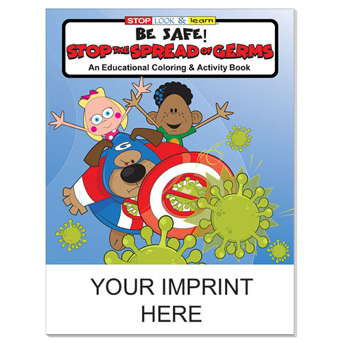 Imprinted Germ Free Coloring & Activity Book