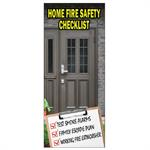 Imprinted Home Fire Safety Checklist Brochure
