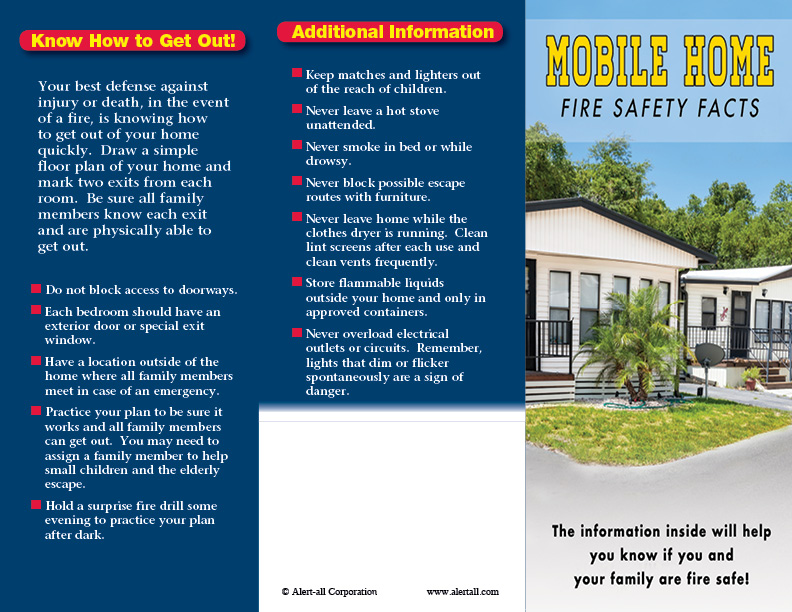 Imprinted Mobile Home Brochure 3