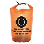 Imprinted Orange 10 Liter Dry Bag w/ Maltese