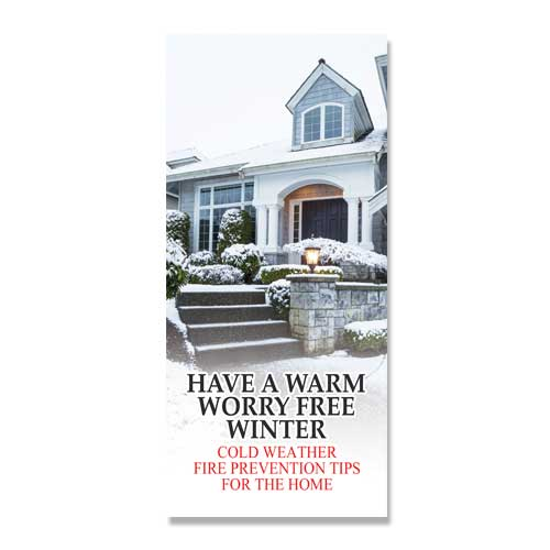 Imprinted Warm Worry Free Winter Brochure
