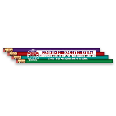Practice Fire Safety Pencil