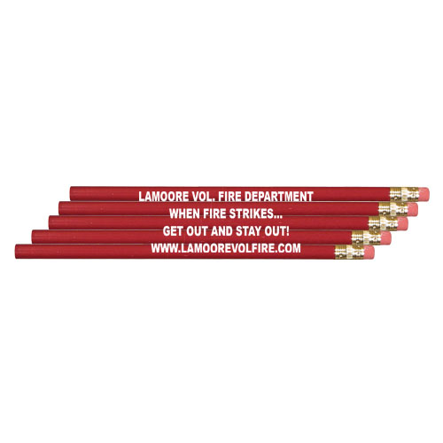 Red Custom Pencil