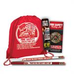 Reflective Backpack School Kit