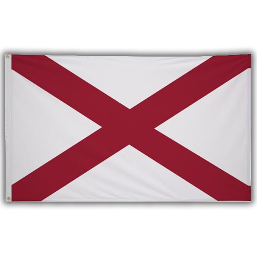 Stock 3' X 5 ' Alabama Flag