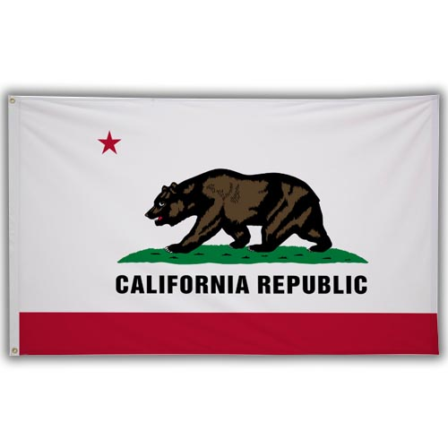 Stock 3' X 5 ' California Flag