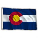 Stock 3' X 5 ' Colorado Flag