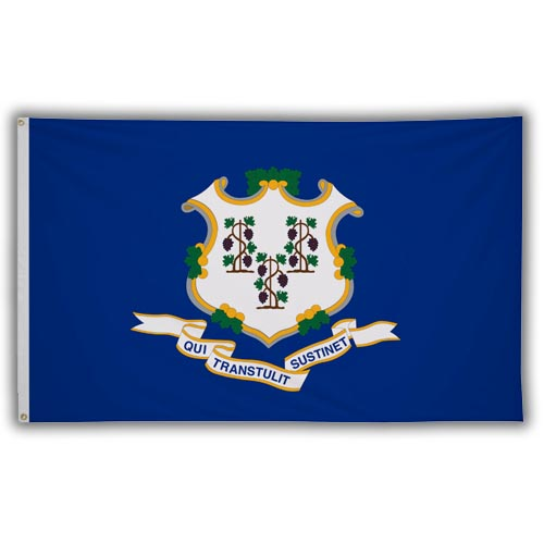 Stock 3' X 5 ' Connecticut Flag