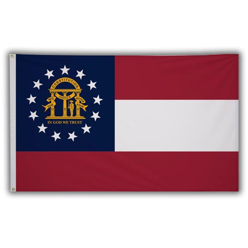 Stock 3' X 5 ' Georgia Flag