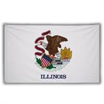 Stock 3' X 5 ' Illinois Flag