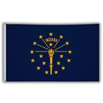 Stock 3' X 5 ' Indiana Flag