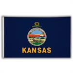 Stock 3' X 5 ' Kansas Flag