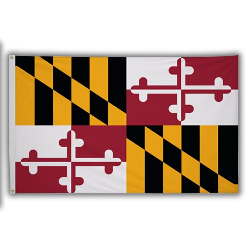 Stock 3' X 5 ' Maryland Flag