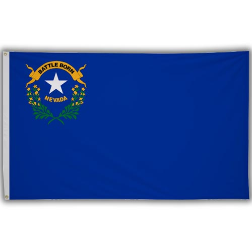Stock 3' X 5 ' Nevada Flag