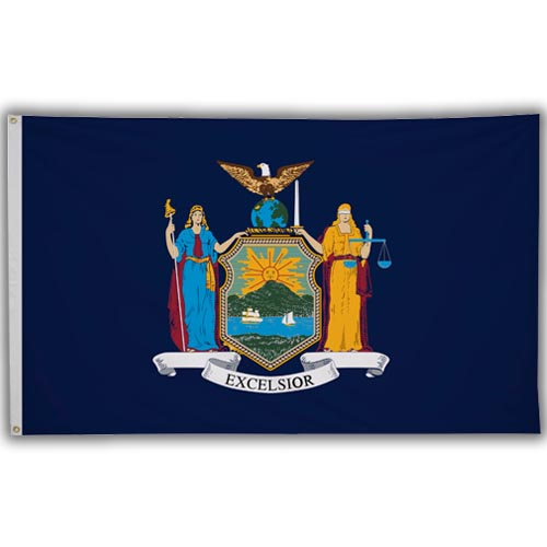 Stock 3' X 5 ' New York Flag
