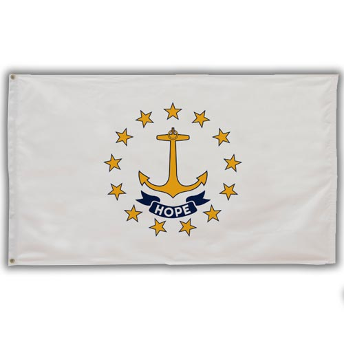 Stock 3' X 5 ' Rhode Island Flag