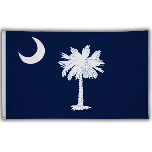 Stock 3' X 5 ' South Carolina Flag