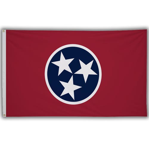 Stock 3' X 5 ' Tennessee Flag