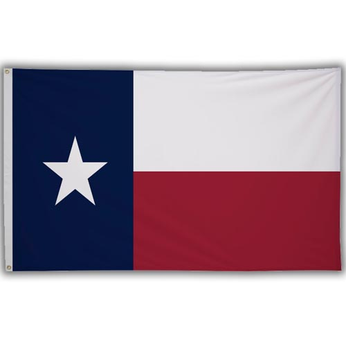 Stock 3' X 5 ' Texas Flag