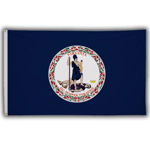 Stock 3' X 5 ' Virginia Flag