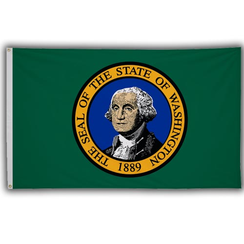 Stock 3' X 5 ' Washington Flag
