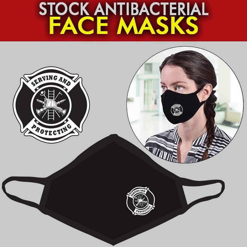 Stock Antibacterial Ear Loop Face Masks - Maltese