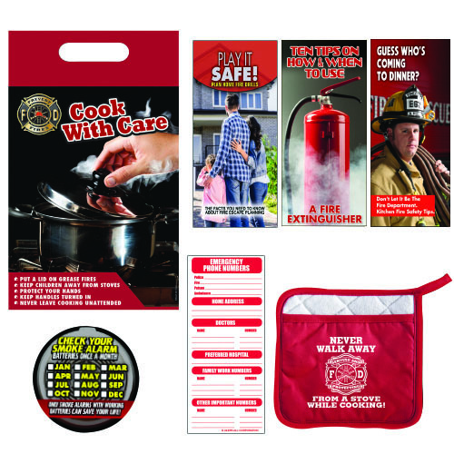 Stock Fire Safety Kitchen Kit