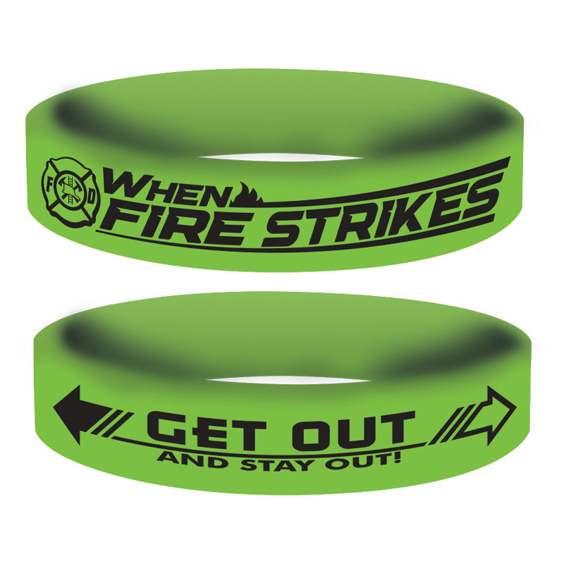 Stock Glow in the Dark Awareness Bands