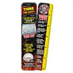 Think Fire Safety Bookmarker