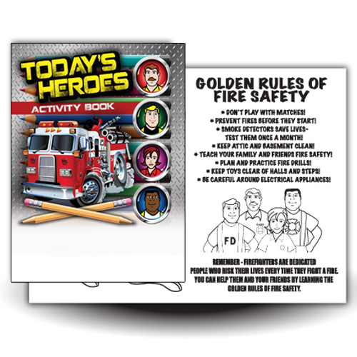 Today's Heroes Activity Book